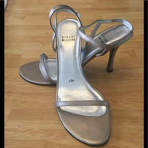 Stuart Weitzman strappy heels